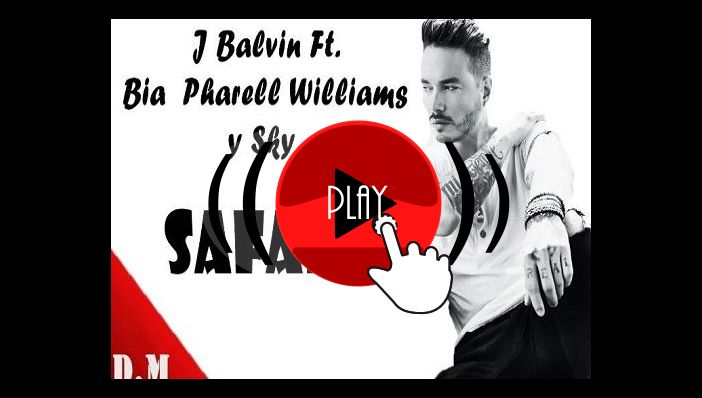 J Balvin Safari ft Pharrell Williams, BIA, Sky